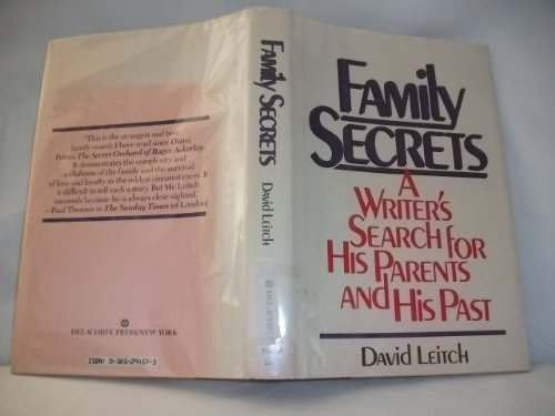 9780385294577: Family Secrets: A Writer's Search for His Parents and His Past