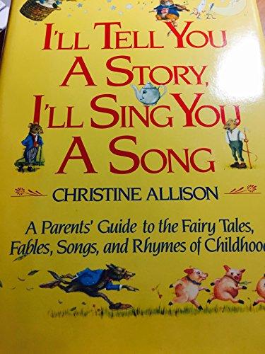 I'll Tell You A Story, I'll Sing: Christine Allison