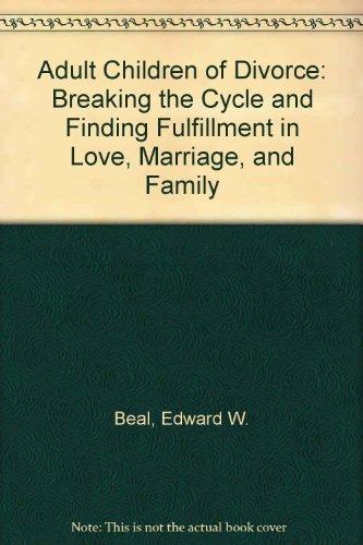 9780385305938: Adult Children of Divorce