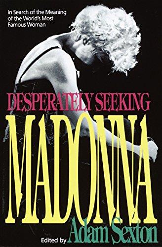 Desperately Seeking Madonna: Adam Sexton (Editor)