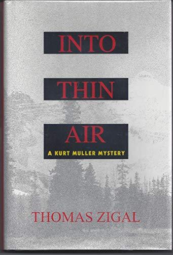 9780385313117: Into Thin Air: A Novel