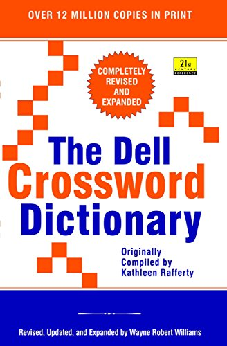 9780385315159: The Dell Crossword Dictionary (21st Century Reference)
