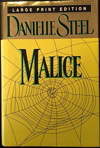 9780385315180: Malice (Bantam/Doubleday/Delacorte Press Large Print Collection)