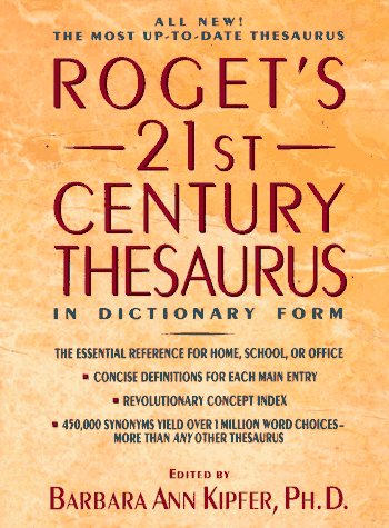 9780385316064: Roget's 21st Century Thesaurus in Dictionary Form
