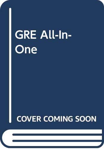 9780385316279: GRE All-In-One (Kaplan GRE Premier Program (W/CD))