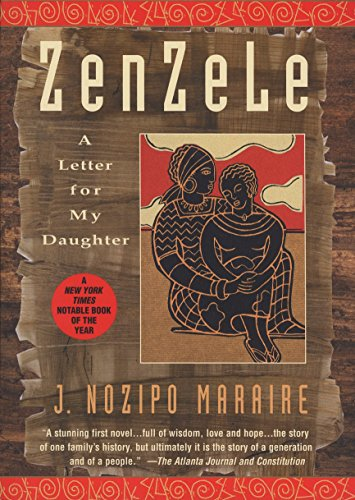 9780385318228: Zenzele: A Letter for My Daughter