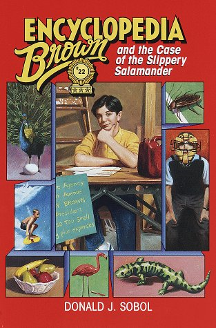 9780385325790: Encyclopedia Brown and the Case of the Slippery Salamander