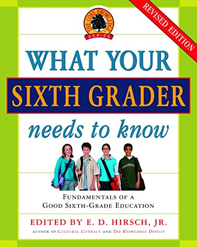9780385337328: What Your Sixth Grader Needs to Know: Fundamentals of a Good Sixth-Grade Education, Revised Edition (Core Knowledge Series)