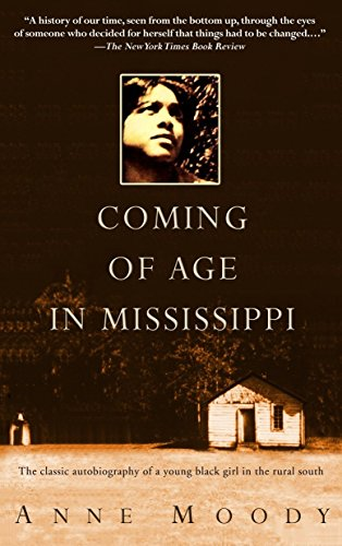 9780385337816: Coming of Age in Mississippi: The Classic Autobiography of a Young Black Girl in the Rural South