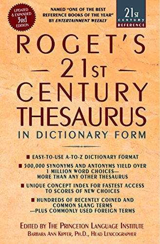 9780385338950: Roget's 21st Century Thesaurus: Updated and Expanded 3rd Edition, in Dictionary Form (21st Century Reference)