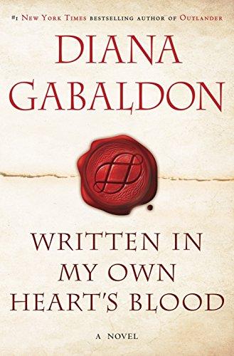 [signed] Written in My Own Heart's Blood (Outlander)