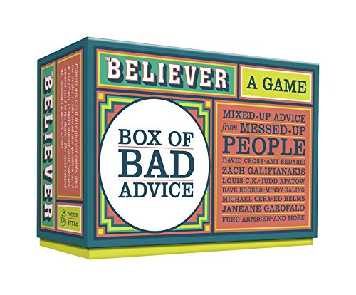 9780385344999: The Believer Box of Bad Advice: A Game