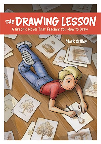 9780385346337: The Drawing Lesson: A Graphic Novel That Teaches You How to Draw