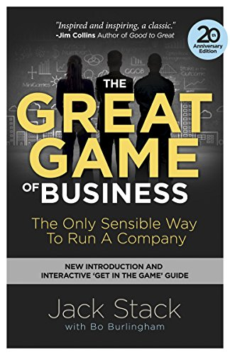 9780385348331: The Great Game of Business, Expanded and Updated: The Only Sensible Way to Run a Company