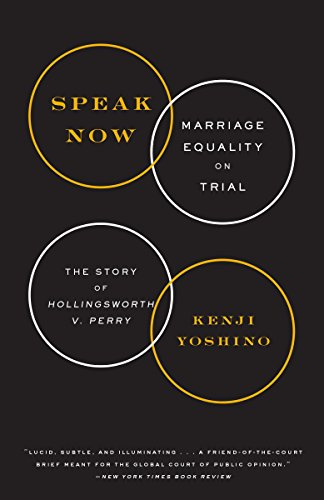 9780385348829: Speak Now: Marriage Equality on Trial