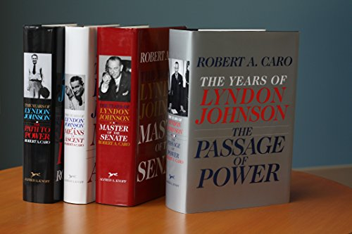 9780385351478: Robert A. Caro's The Years of Lyndon Johnson Set: The Path to Power; Means of Ascent; Master of the Senate; The Passage of Power