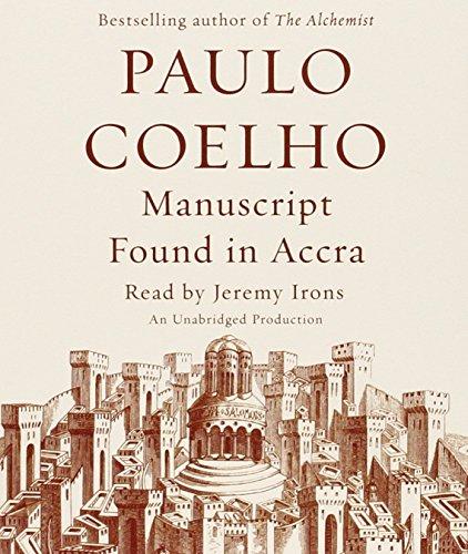 9780385367783: Manuscript Found in Accra