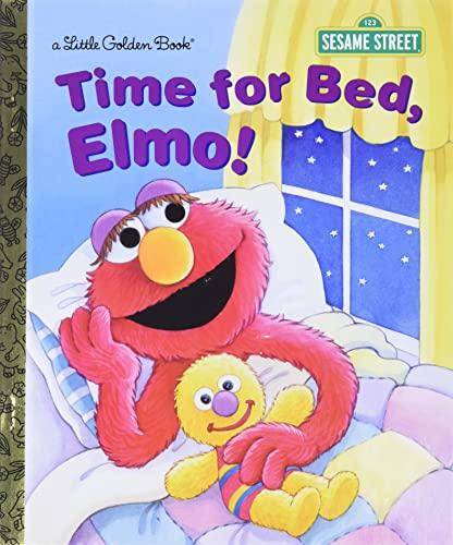 9780385371384: Time for Bed, Elmo! (Sesame Street)
