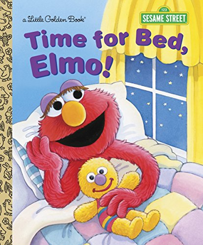 9780385371384: Time for Bed, Elmo! (Sesame Street) (Little Golden Book)
