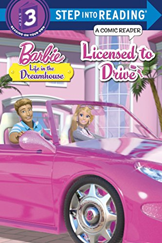 9780385373104: Licensed to Drive (Barbie. Step Into Reading)