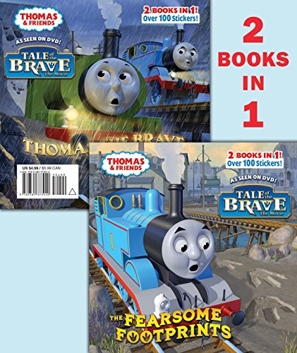 9780385373920: The Fearsome Footprints/Thomas the Brave [With Sticker(s)] (Thomas and Friends Pictureback)