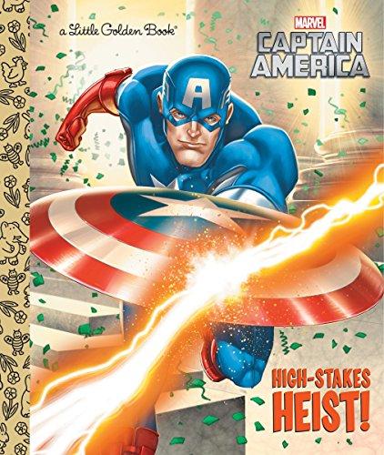 High-Stakes Heist! (Marvel: Captain America) (Little Golden Book)