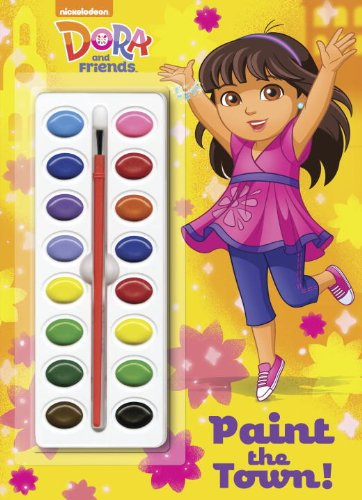 9780385374415: Paint the Town! [With Paint] (Dora and Friends)