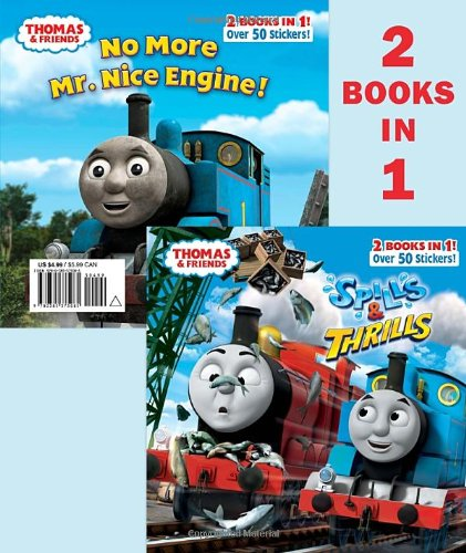 9780385375085: Spills & Thrills/No More Mr. Nice Engine [With Sticker(s)] (Thomas and Friends Pictureback)