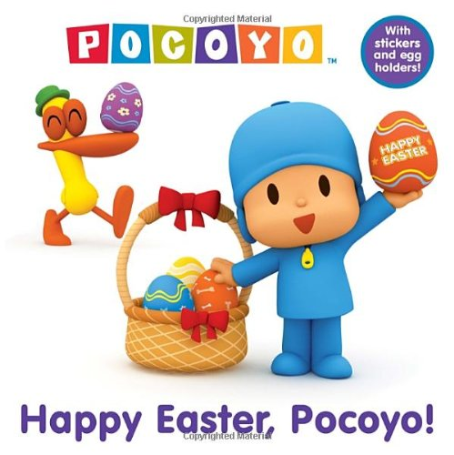 9780385375115: Happy Easter, Pocoyo! [With Punch-Out Easter Egg Holders]