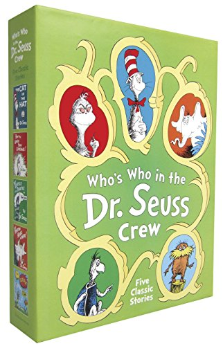 Who's Who in the Dr. Seuss Crew (Boxed Set): Dr Seuss