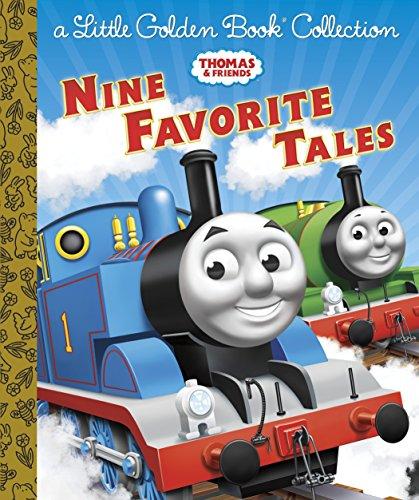 9780385376440: Thomas & Friends: Nine Favorite Tales (Little Golden Book Collection)