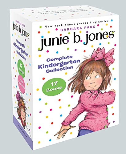 9780385376945: Junie B. Jones Complete Kindergarten Collection: Books 1-17 Plus Paper Dolls!