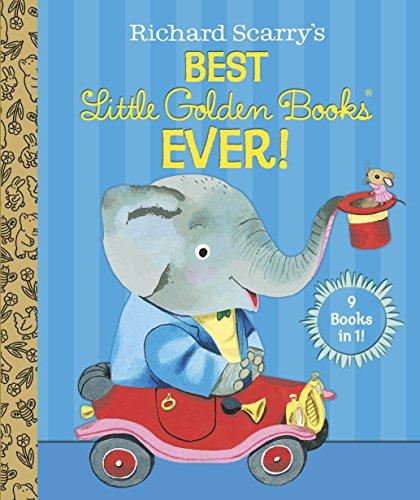 9780385379120: Richard Scarry's Best Little Golden Books Ever!