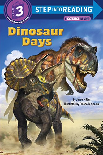 9780385379236: Dinosaur Days (Step into Reading)
