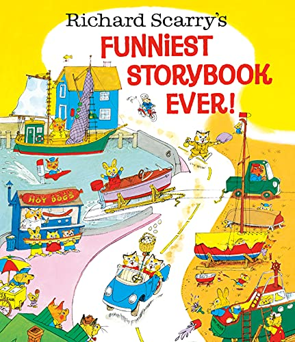 9780385382977: Richard Scarry's Funniest Storybook Ever!