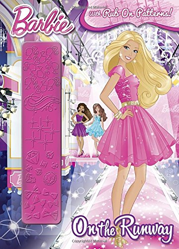 9780385383387: On the Runway (Barbie) (Rub-on Pattern Book)