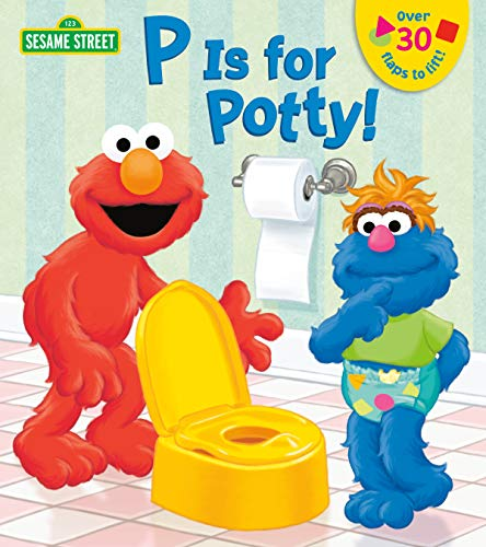 9780385383691: P is for Potty (Sesame Street)