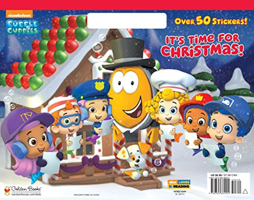 9780385384094: It's Time for Christmas! (Bubble Guppies)