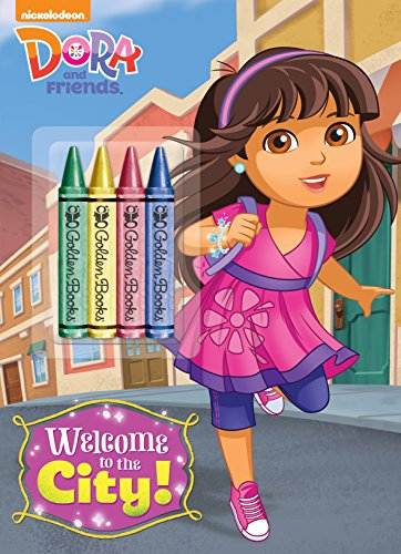 9780385384124: Dora and Friends: Welcome to the City! [With Crayons]