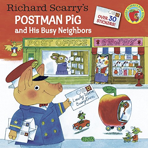 9780385384193: Richard Scarry's Postman Pig and His Busy Neighbors