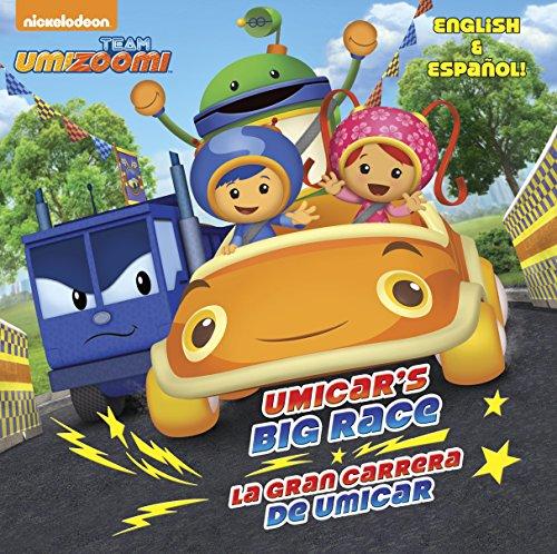 9780385384377: Umicar's Big Race/La Gran Carrera de Umicar (Team Umizoomi)