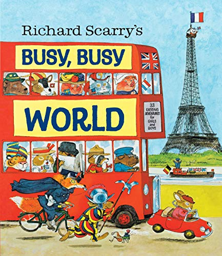 9780385384803: Richard Scarry's Busy, Busy World