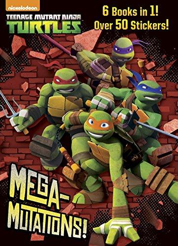 9780385385046: Mega-Mutations! (Teenage Mutant Ninja Turtles)
