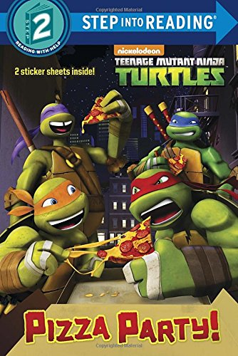 9780385385060: Pizza Party! (Teenage Mutant Ninja Turtles) (Step into Reading)