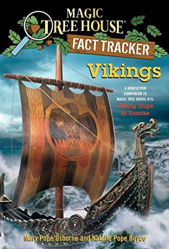 9780385386388: Magic Tree House Fact Tracker #33: Vikings: A Nonfiction Companion to Magic Tree House #15: Viking Ships at Sunrise
