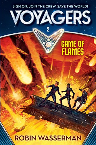 9780385386616: Voyagers: Game of Flames (Book 2)