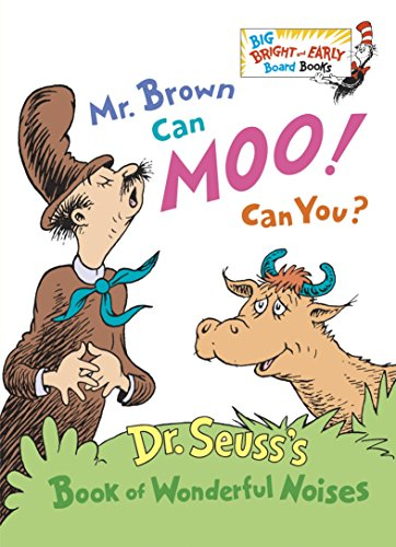 9780385387125: Mr. Brown Can Moo! Can You? (Big Bright & Early Board Book)