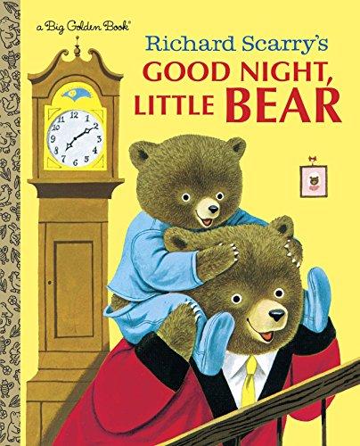 9780385387293: Richard Scarry's Good Night, Little Bear (Big Golden Book)