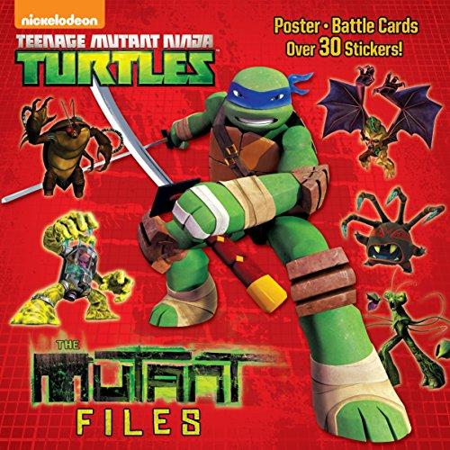 9780385387460: The Mutant Files [With Sticker(s)] (Teenage Mutant Ninja Turtles)