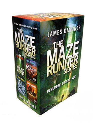 The Maze Runner Series Boxed Set: James Dashner